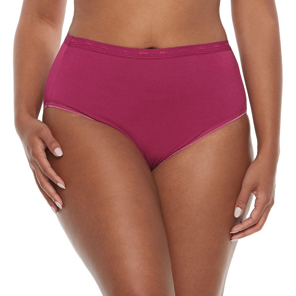 Bali Solid Full-Cut-Fit Brief DFFF62 - Women's