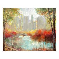 City View Canvas Wall Art