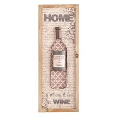Nyler 'Home Is Where There Is Wine' Wall Decor