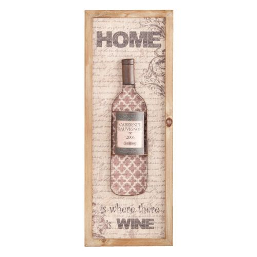 "Nyler ""Home Is Where There Is Wine"" Wall Decor"