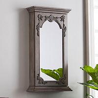 Jarman Wall Mount Jewelry Mirror
