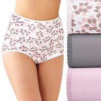 Bali Skimp Skamp 3-Pack Brief Panty DFA633