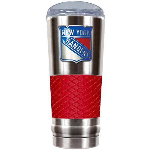 New York Rangers 24-Ounce Draft Stainless Steel Tumbler
