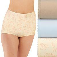 Bali Skimp Skamp 3-Pack Cotton-Blend Brief Panty DFA332