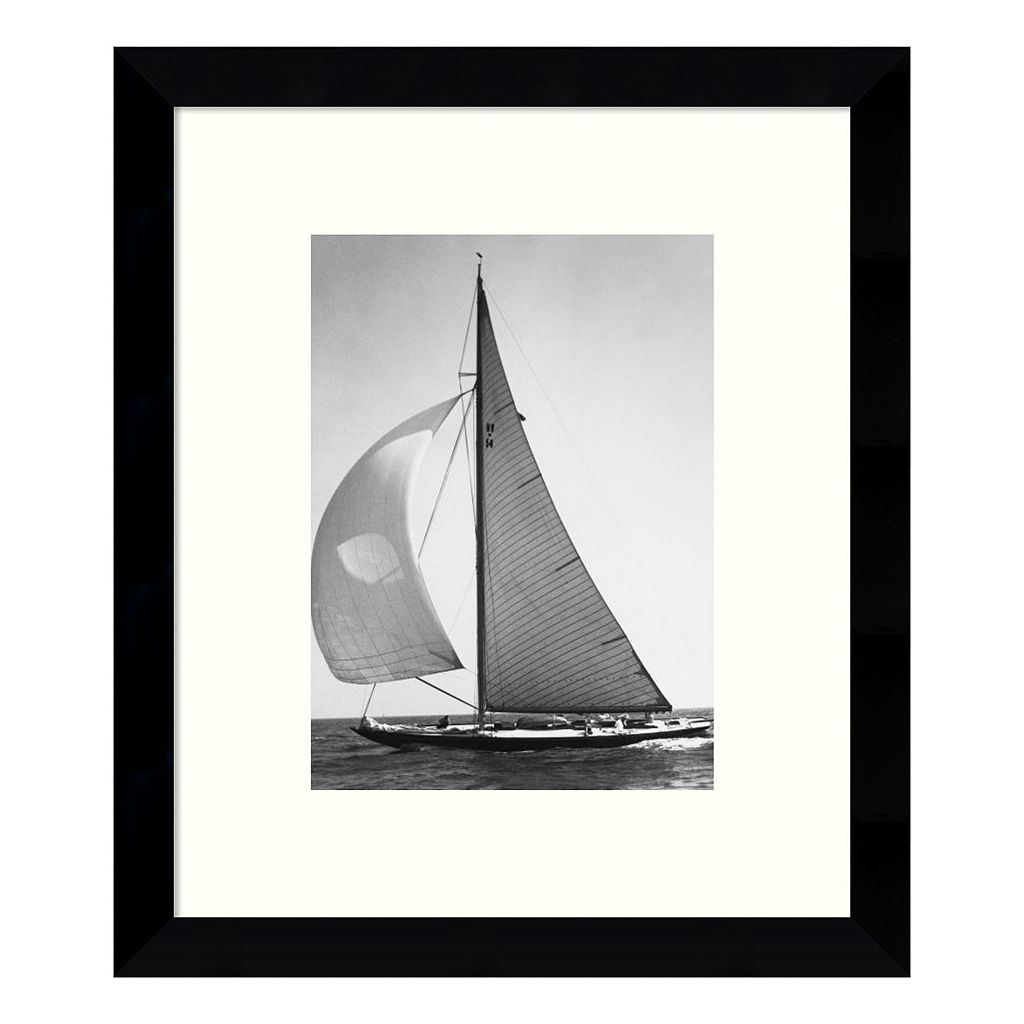 Full Front Sail 1936 Framed Wall Art