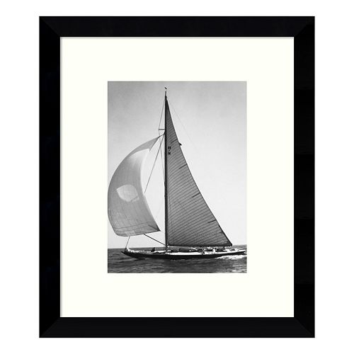 Full Front Sail 1936 Framed Wall Art
