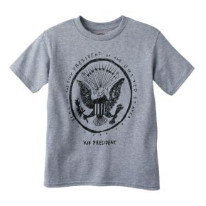 Boys 4-7 Kid President Seal Graphic Tee