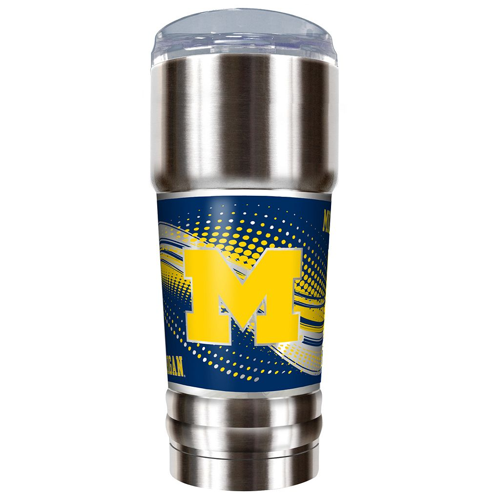 Michigan Wolverines 32-Ounce Pro Stainless Steel Tumbler
