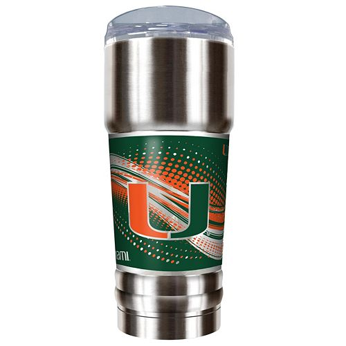Miami Hurricanes 32-Ounce Pro Stainless Steel Tumbler