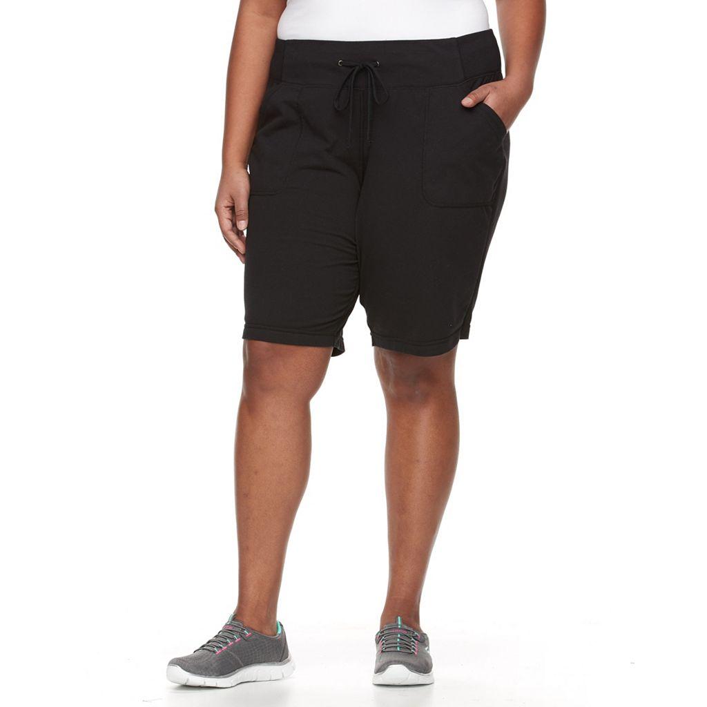 Plus Size Tek Gear® Knit Bermuda Shorts