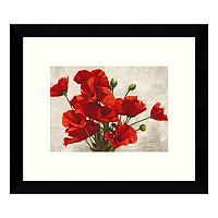 Bouquet of Poppies Framed Wall Art