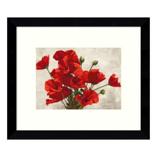 Bouquet of Poppies Framed Wall Art