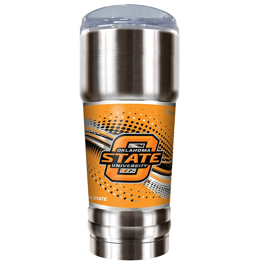 Oklahoma State Cowboys 32-Ounce Pro Stainless Steel Tumbler