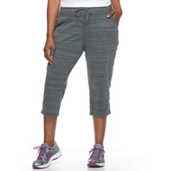 Plus Size Tek Gear® Straight-Leg Capris