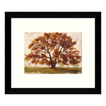 Mattino I: Tree Framed Wall Art