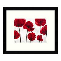 Red Friends (Poppies) Framed Wall Art
