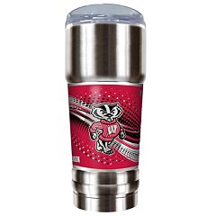 Wisconsin Badgers 32-Ounce Pro Stainless Steel Tumbler