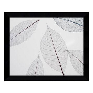 Sheer Leaves I Framed Wall Art