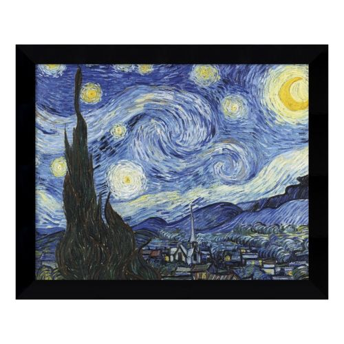 Starry Night Framed Wall Art