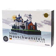 nanoblock Deluxe Edition Level 7 Schloss Neuschwanstein Castle 3D Puzzle by
