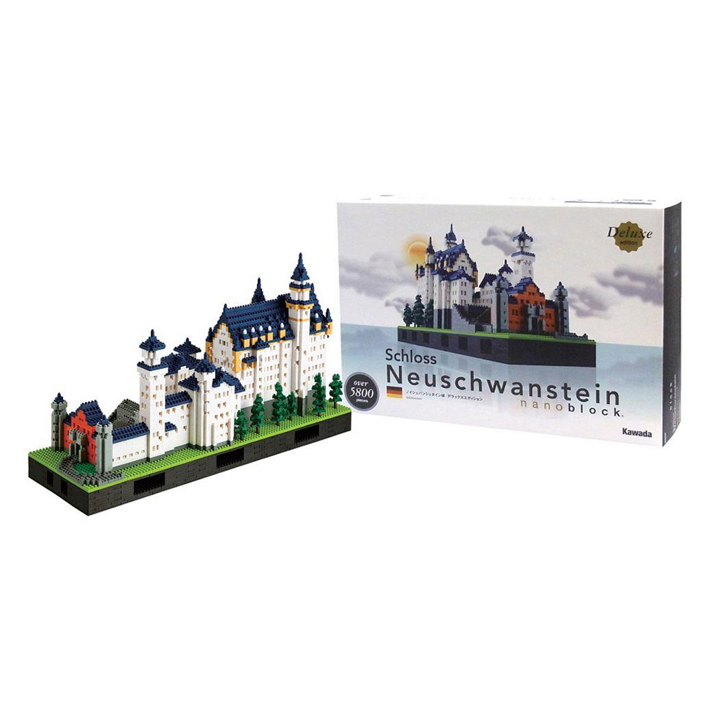 nanoblock Deluxe Edition Level 7 Schloss Neuschwanstein Castle 3D Puzzle