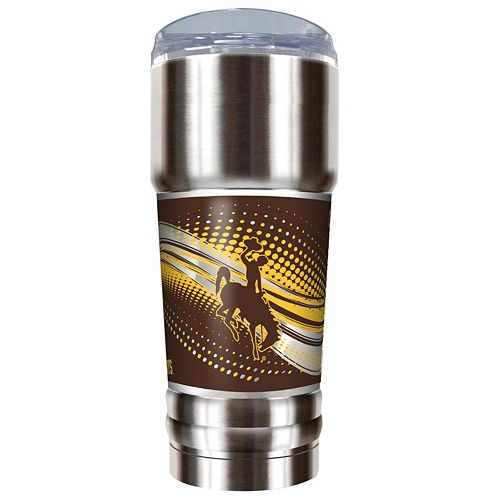 Wyoming Cowboys 32-Ounce Pro Stainless Steel Tumbler