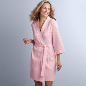 Women's Croft & Barrow® Waffle Texture Robe