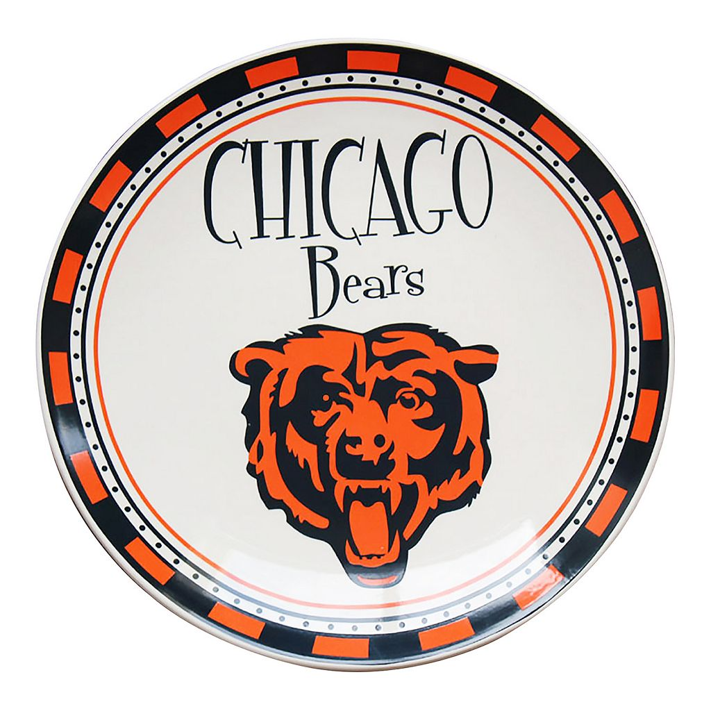 Chicago Bears Wordmark Plate