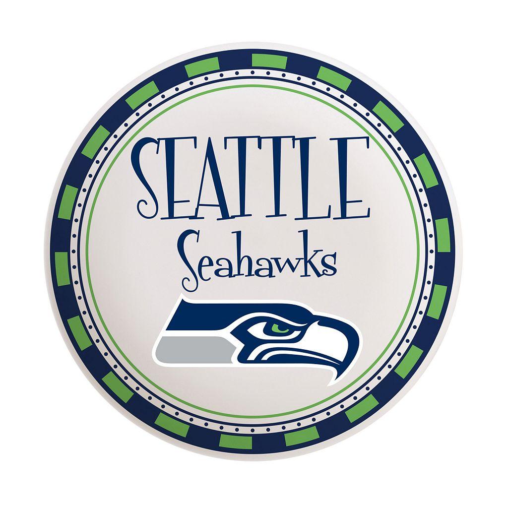 Seattle Seahawks Wordmark Plate