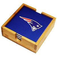 New England Patriots Ceramic Coaster Set