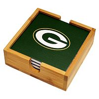 Green Bay Packers Ceramic Coaster Set