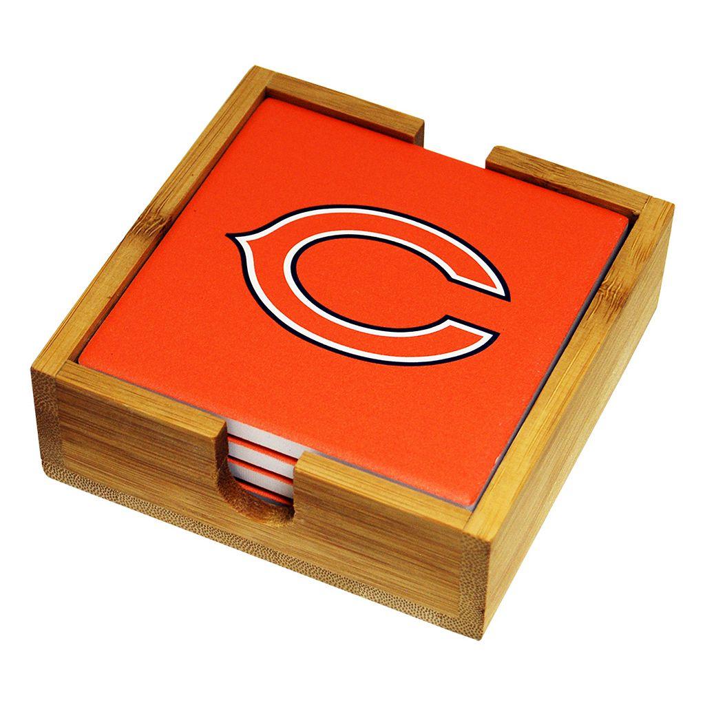 Chicago Bears Ceramic Coaster Set