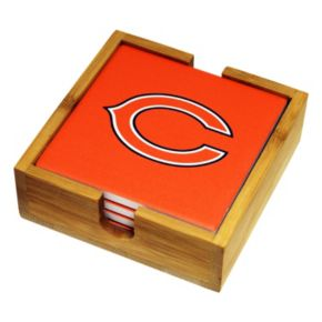 Chicago Bears Ceramic Coaster Set