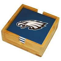 Philadelphia Eagles Ceramic Coaster Set