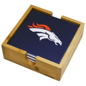 Denver Broncos Ceramic Coaster Set
