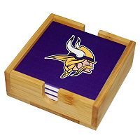 Minnesota Vikings Ceramic Coaster Set