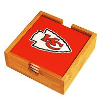 Kansas City Chiefs Ceramic Coaster Set