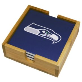 Seattle Seahawks Ceramic Coaster Set