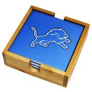 Detroit Lions Ceramic Coaster Set