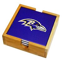 Baltimore Ravens Ceramic Coaster Set