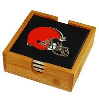 Cleveland Browns Ceramic Coaster Set