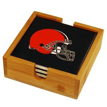 Cleveland Browns Ceramic Coaster Set
