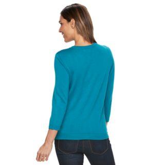 Women's Croft & Barrow® Essential Jersey Cardigan