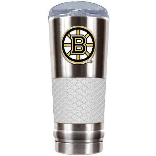 Boston Bruins 24-Ounce Draft Stainless Steel Tumbler