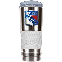 New York Rangers 24-Ounce Draft Stainless Steel Tumbler