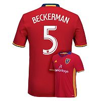 Men's adidas Real Salt Lake Kyle Beckerman Jersey