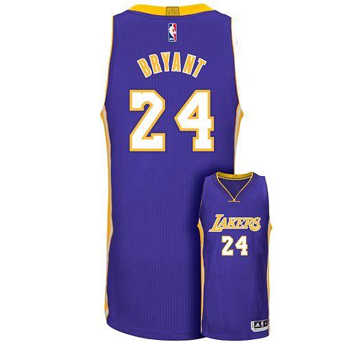 6b778c54e94 Men s adidas Los Angeles Lakers Kobe Bryant Authentic NBA Jersey