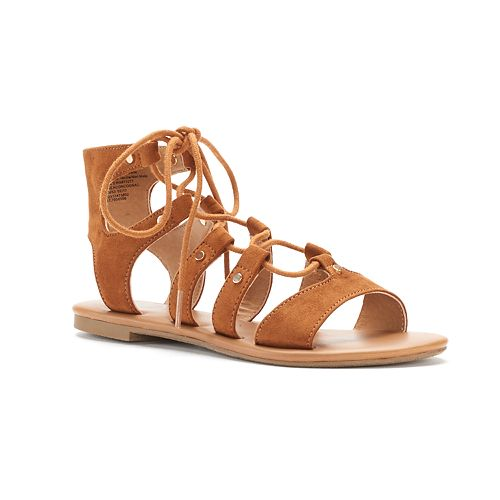 8c5807f7547 SO® Women s Lace-Up Gladiator Sandals