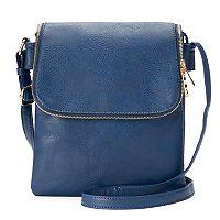 Deluxity Cheyanne Flap Crossbody Bag