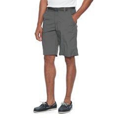 Men's Columbia Omni-Shade Sycamore Falls Belted Shorts